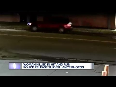 Woman killed in hit and run, police release surveillance photos