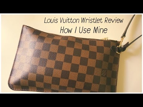 LV Neverfull Wristlet Review | How I Use Mine