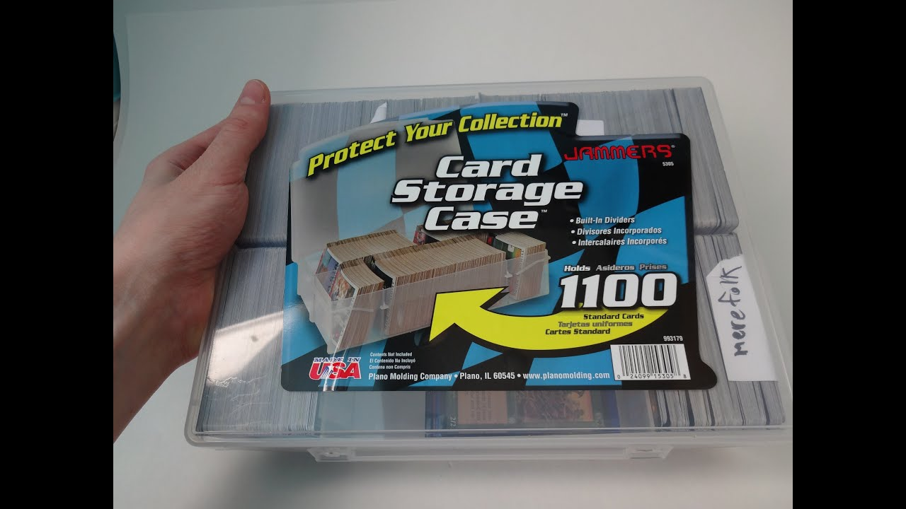 Jammers By Plano Card Storage Case Review Mtg Youtube