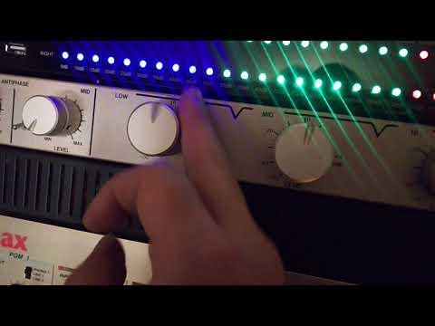 Vestax DCR-1200 - Easy boost setting