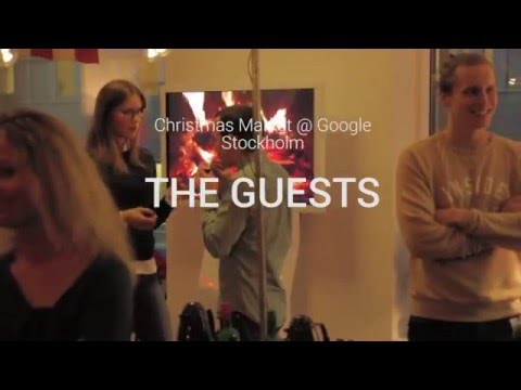 Think with Google Nordics | Christmas Market at Google Sweden