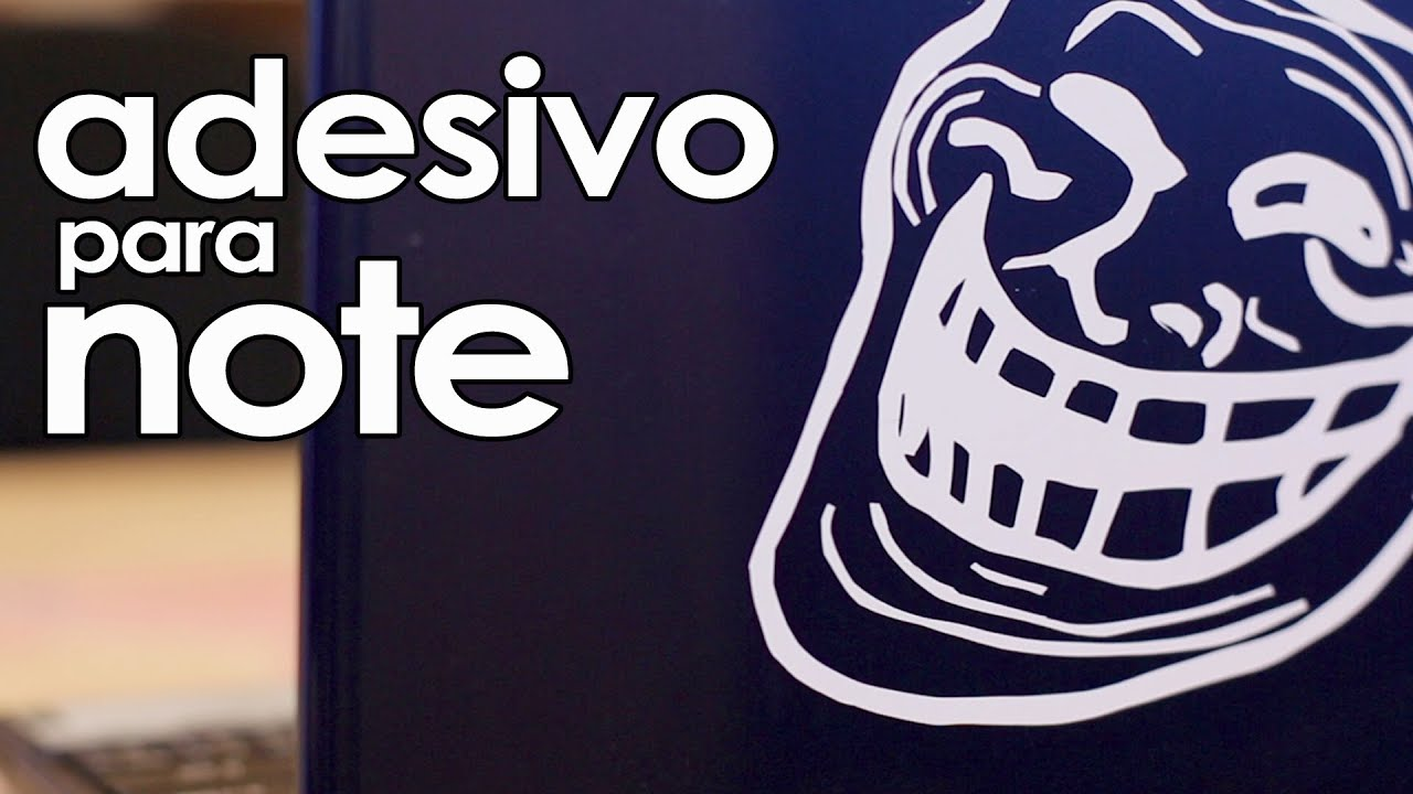 Adesivo De Recorte Personalizado ~ Adesivo para notebook, videogame, tablet, celular, caderno YouTube