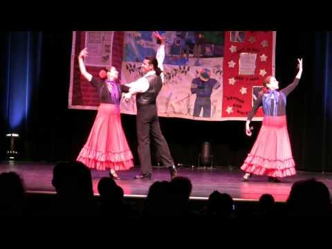 Fresno World AIDS Day 2009 - Flamenco Spanish Arts Society #1