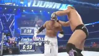 vuclip WWE Smackdown 1/1/10 Chris Jericho vs. Rey Mysterio Beat the Clock Match (HQ)