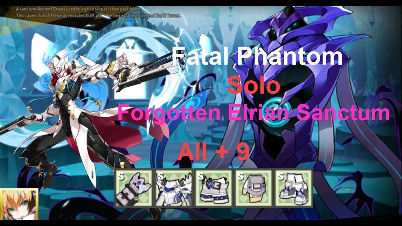 ✬Elsword✬ – Chung(3rd): Fatal Phantom –  Solo –  (11-6): Forgotten Elrian Sanctum