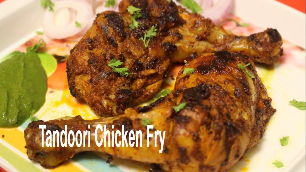 what makes tandoori chicken red