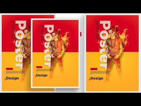 Movie Poster Design in adobe photoshop cc 2019 tutorial thumbnail