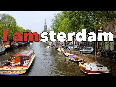 Our first impressions exploring Amsterdam Netherlands