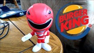 Toy Hunting - Power Rangers Burger King Kid