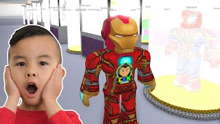 Showing Kaison My Superhero Collection in Roblox CKN Gaming
