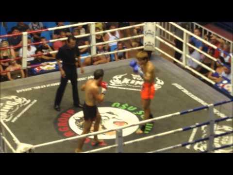 Dan Wilson (Lion Muay Thai) vs Wangsaan (Sitsonpeenong)
