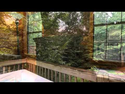 """Secret Rendezvous"" Romantic Honeymoon Cabin in Pigeon Forge, TN  - Cabins USA 2015"