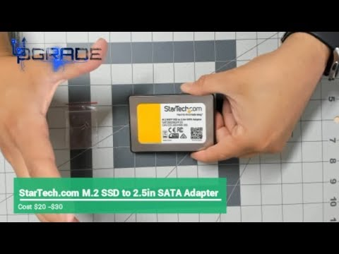 StarTech M.2 SSD To 2.5in SATA Adapter