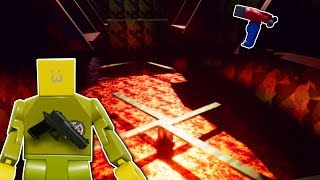CRAZY MILITARY DEATHRUN? - Brick Rigs Multiplayer Gameplay - Lego deathrun challenge
