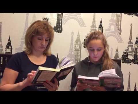 Изображение предпросмотра прочтения – ЕлизаветаТрофимова читает отрывок изпроизведения «Отцы и дети» И.С.Тургенева