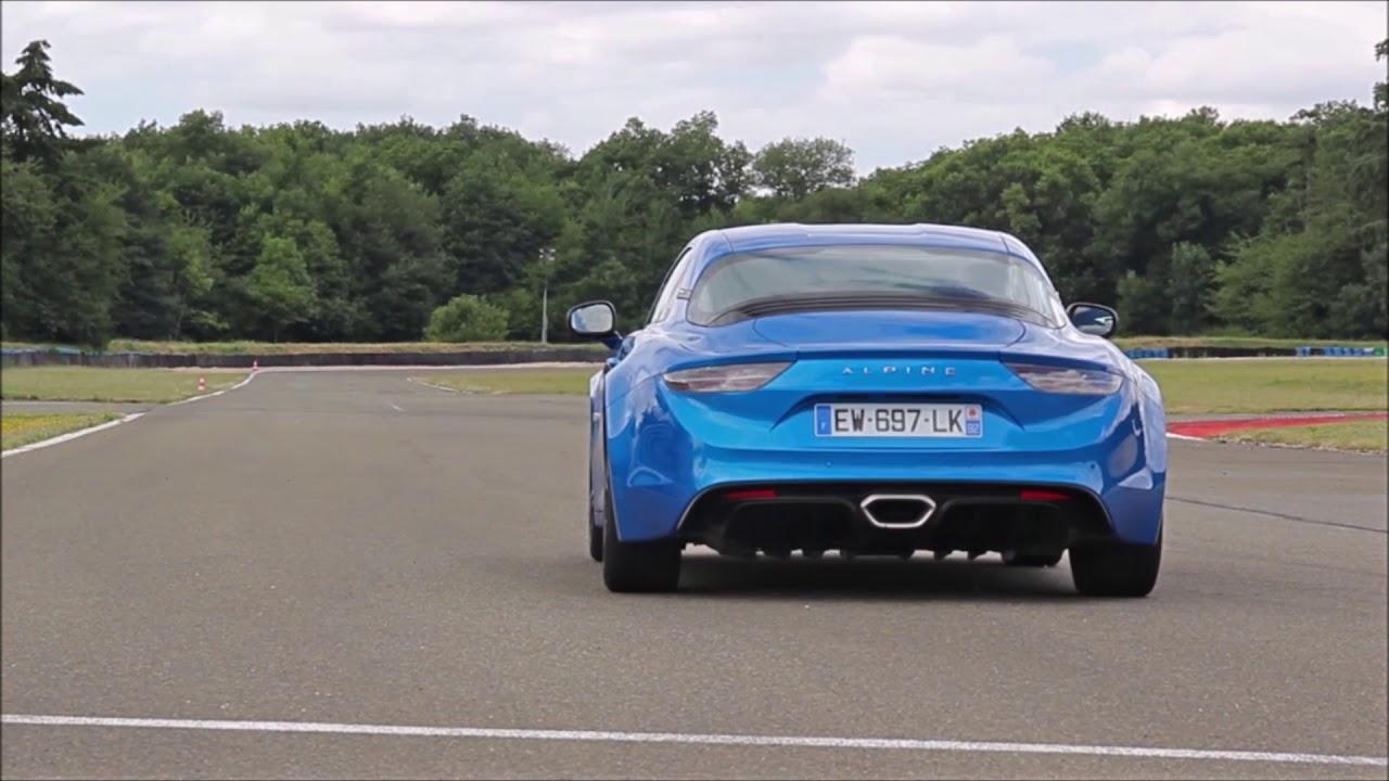 Alpine A110 Première Edition - Circuit de Dreux - Acceleration test & sound