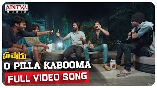 O Pilla Kabooma Full Song || Hushaaru Movie || Rahul Rama krishna || Sree Harsha Konuganti