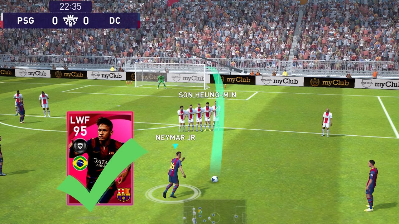 Barcelona Iconic Moment - Trick 🔥 eFootball PES 2021 Mobile