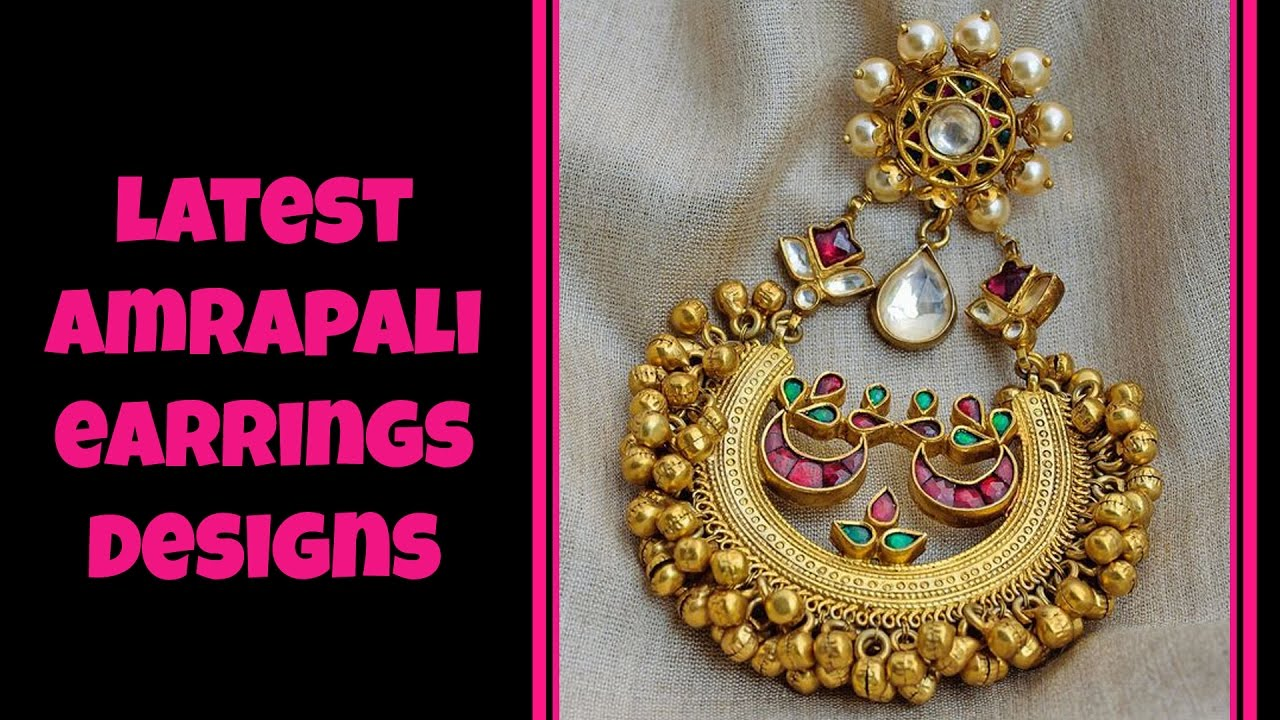 danglers gold at product label online red egyptian shopping golden by jivaana amrapali buy earrings amara jewellery long