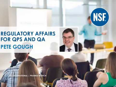 Webinar: Regulatory Affairs For QP And QA | Pharma Biotech