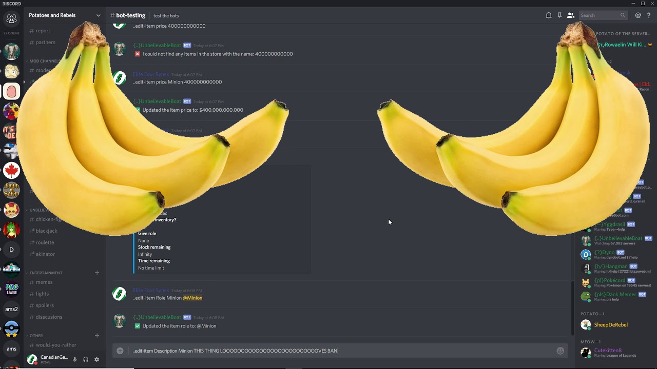 (OUT OF DATE)How to Create + Edit Roles With the UnbelievaBoat Discord  Bot!(Shop setup, role-income)