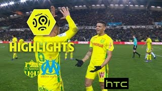FC Nantes - Olympique de Marseille (3-2) - Highlights - (FCN - OM) / 2016-17