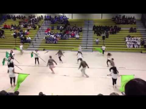 Greer High School Winterguard 2013