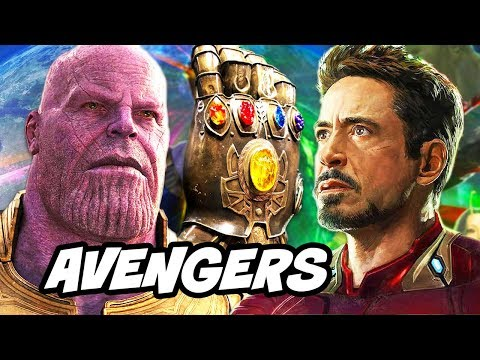 Avengers Infinity War Trailer - Thanos Infinity Stones Explained