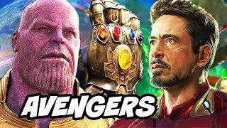Avengers Infinity War Trailer - Thanos Infinity Stones Explained