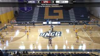 uncg volleyball vs chattanooga
