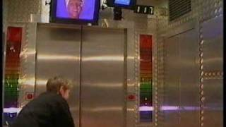Incredible Games- Mr Blobby invades the lift