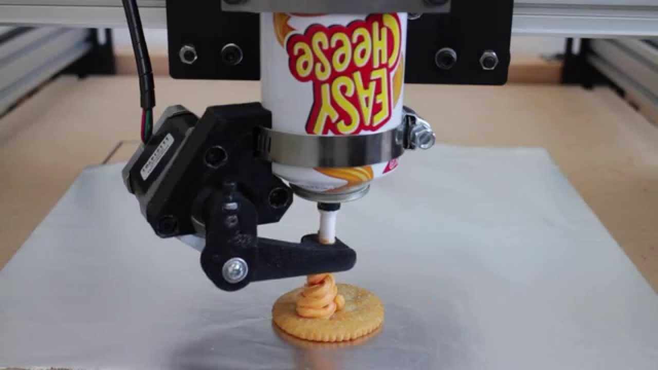 Le futur : une imprimante 3D de fromage !