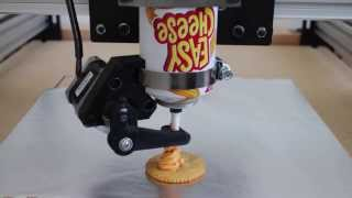 Easy Cheese 3d Printer: Initial Testing