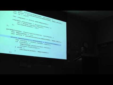 IndexedDB—Eric Kizaki