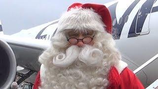 成田空港に11月30日、本場フィンランドからサンタクロースがやって...