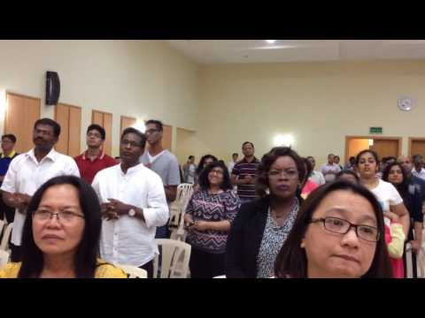 Praise and Worship at Praise Fest by El Shaddai Qatar on July 15, 2016