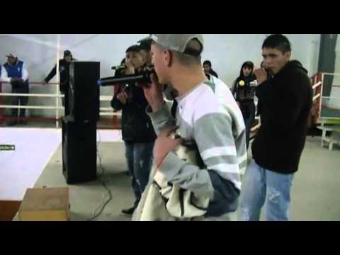 RECITAL DEL BARRIO RAP EN LA PLATA 3-8-2013