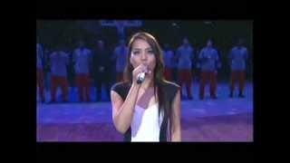 소향 미국국가 방송분 / SoHyang National Anthem at N...