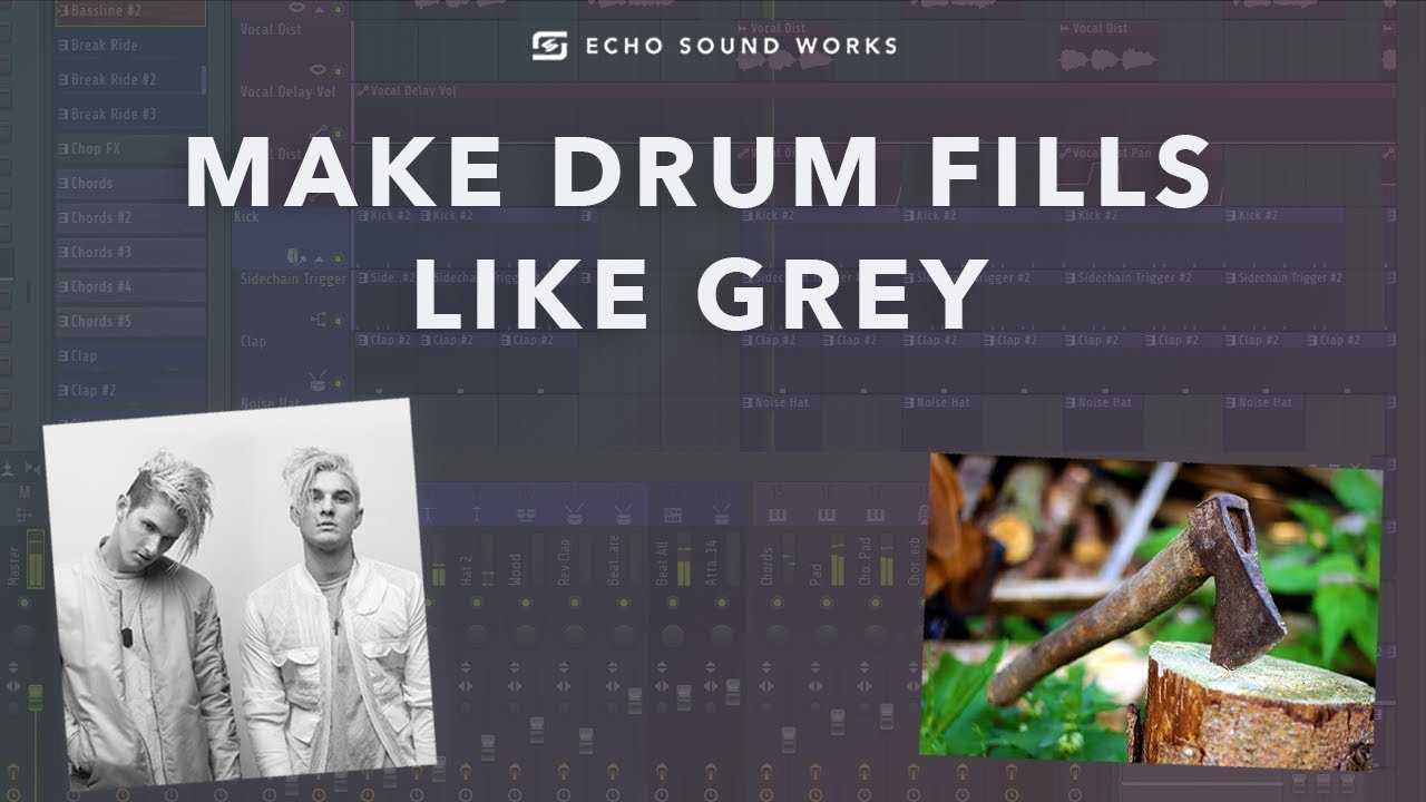 How To Make Drum Fills Like Grey