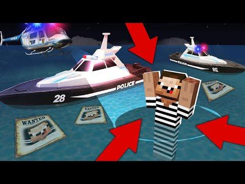 NOOB CAUGHT In The SEA! BIG ESCAPE! In Minecraft : NOOB Vs PRO