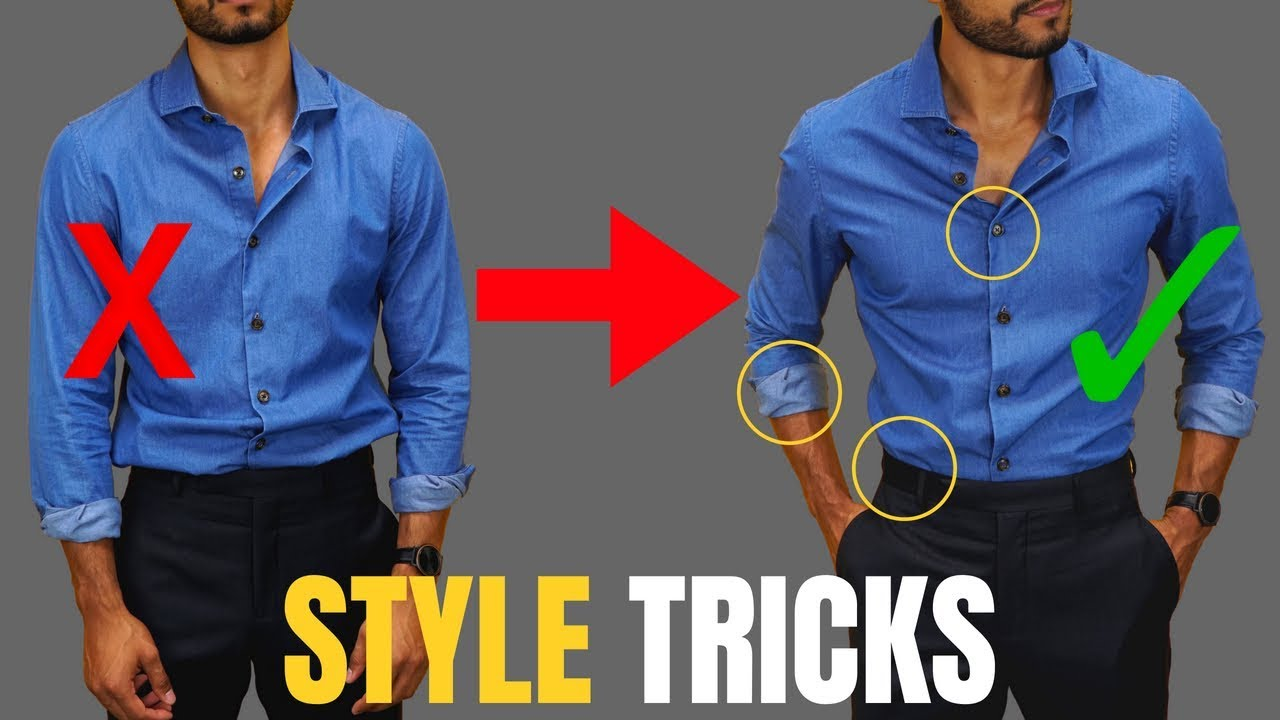 Style Tricks for guys