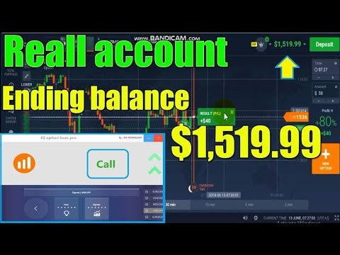 Never loss In trading iQ option signals software | all you need to make money