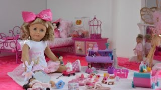 American Girl Doll Poppy's Bedroom ~ Watch In Hd!