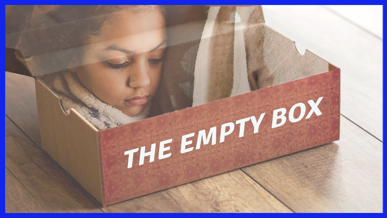 THE EMPTY BOX: THE BEST THINGS IN LIFE ARE TRULY FREE