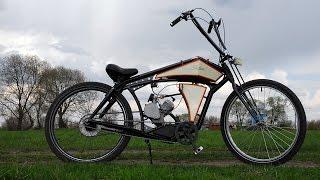 Board tracker (велосипед с мотором) часть 2(Продолжаем создание велосипеда с мотором. Все трюки выполнены профессионалом, без средств индивидуальной..., 2016-05-06T14:30:00.000Z)
