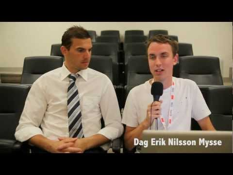 Interview with Ante Covic about Swedish and Australian football (Soccer)