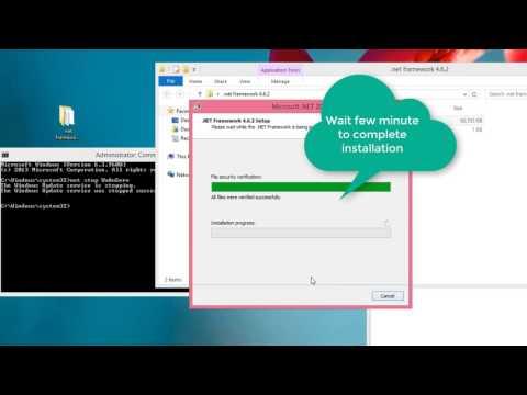 How To Install Offline .net Framework 4.6.2 On Windows 8/8.1