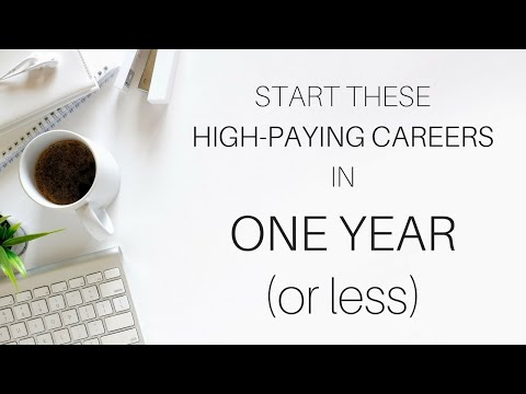 High-Paying, Flexible Jobs with FAST Career Paths