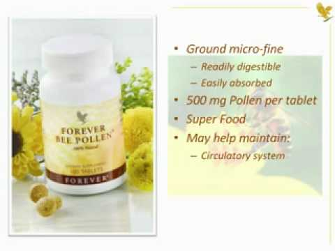 Forever Living Products Bee pollen and allergy - YouTube