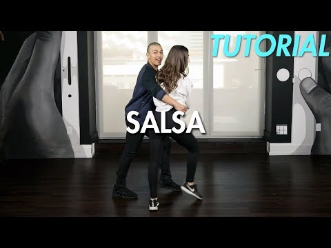 How to Salsa: The Cradle Step (Ballroom Dance Moves Tutorial) | MihranTV